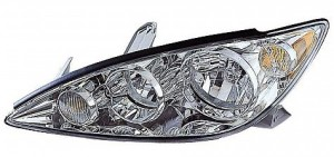 2005-2006 Toyota Camry Headlight Assembly (LE/XLE / Bright / USA) - Left (Driver)