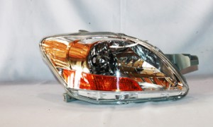 2007-2011 Toyota Yaris Headlight Assembly - Right (Passenger)