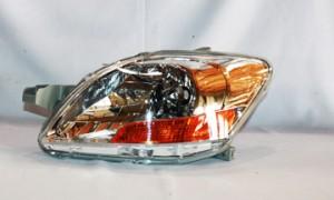 2007-2011 Toyota Yaris Headlight Assembly - Left (Driver)