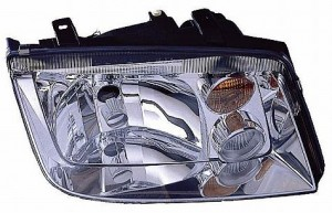 2002-2005 Volkswagen Jetta Headlight Assembly (with Fog lamps / Type 4) - Right (Passenger)