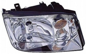 2002-2005 Volkswagen Jetta Headlight Assembly (1.9/2.0/2.8L / without Fog Lamps / without Turbo) - Right (Passenger)