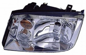 2002-2005 Volkswagen Jetta Headlight Assembly (with Fog Lamps / Type 4) - Left (Driver)