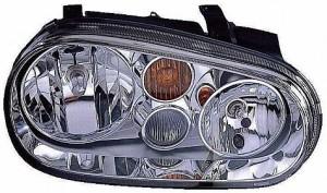 2002-2002 Volkswagen Golf / GTI / GTA Headlight Assembly - Right (Passenger)