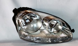 2005-2010 Volkswagen Jetta Headlight Assembly - Right (Passenger)