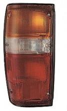 1984-1989 Toyota 4Runner Tail Light Rear Lamp (Black Lens) - Left (Driver)