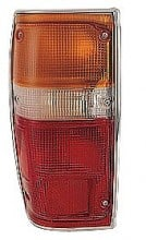 1984-1988 Toyota Pickup Tail Light Rear Lamp (with Chrome) - Left (Driver)