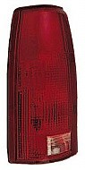 1988-2002 Chevrolet Chevy C / K Pickup Tail Light Rear Lamp (Fleetside / C/K / with Connector Plate) - Left (Driver)