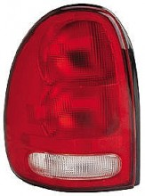 1996-2000 Plymouth Voyager Tail Light Rear Lamp - Left (Driver)