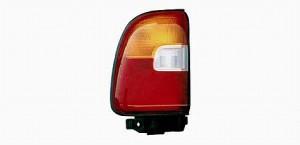 1996-1997 Toyota RAV4 Tail Light Rear Lamp (OEM #81560-42030) - Left (Driver)