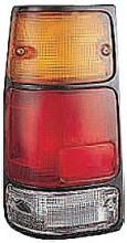 1988-1995 Isuzu Pickup Tail Light Rear Lamp (with Black Rim) - Left (Driver)