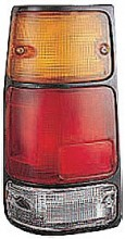 1991-1997 Isuzu Rodeo Tail Light Rear Lamp ( with Black Rim) - Left (Driver)