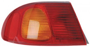 1998-2002 Toyota Corolla Tail Light Rear Lamp (Body Mounted) - Left (Driver)