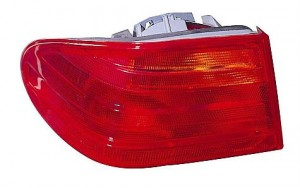 1997-1997 Mercedes Benz E420 Tail Light Rear Lamp - Right (Passenger)