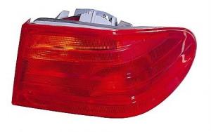 1997-1997 Mercedes Benz E420 Tail Light Rear Lamp - Left (Driver)
