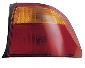 1999-2000 Honda Civic Tail Light Rear Lamp (Sedan / Body Mounted) - Right (Passenger)
