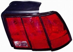 1999-2004 Ford Mustang Tail Light Rear Lamp (Excluding Cobra) - Left (Driver)