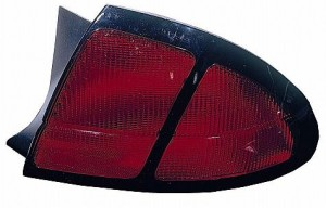 1997-1999 Chevrolet Chevy Lumina Coupe / Sedan Tail Light Rear Lamp (Base/LS) - Right (Passenger)