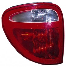 2001-2003 Plymouth Voyager Tail Light Rear Lamp (Includes Sockets) - Left (Driver)