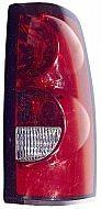 2004-2007 Chevrolet Chevy Silverado  Tail Light Rear Lamp (3500 / Fleetside /with Single Rear Wheels) - Right (Passenger)