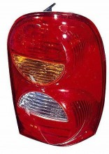 2002-2004 Jeep Liberty Tail Light Rear Lamp - Right (Passenger)