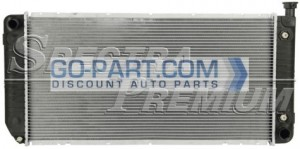 1999-2000 Cadillac Escalade EXT Radiator (5.7L V8 / Without EOC)