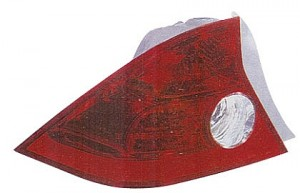 2004-2005 Honda Civic Tail Light Rear Lamp (Coupe / Quarter Panel Mounted / without Bulbs or Sockets) - Left (Driver)