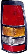 1999-2003 Chevrolet Chevy Silverado  Tail Light Rear Lamp (3500 / with Black Bezel Lens) - Right (Passenger)