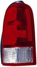 2005-2009 Chevrolet (Chevy) Uplander Tail Light Rear Lamp - Left (Driver)