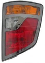 2006-2008 Honda Ridgeline Tail Light Rear Lamp - Right (Passenger)