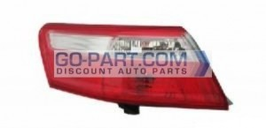2007-2009 Toyota Camry Tail Light Rear Lamp (Outer Lamps / USA) - Left (Driver)