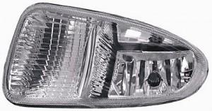 2001-2004 Chrysler Town & Country Fog Light Lamp - Right (Passenger)