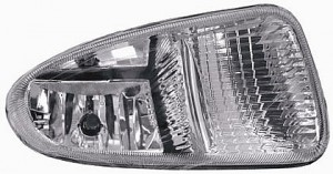 2001-2004 Plymouth Voyager Fog Light Lamp - Left (Driver)