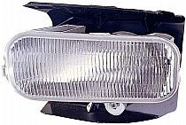 2004-2004 Ford F-Series Light Duty Pickup Fog Light Lamp (without Lightning / Heritage) - Left (Driver)