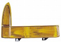 2001-2001 Ford F-Series Super Duty Pickup Corner Light (with Both Lenses Amber Colored) - Right (Passenger)