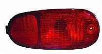 2001-2004 Hyundai Santa Fe Rear Bumper Reflector - Right (Passenger)