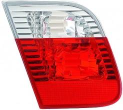 2002-2005 BMW 325i Backup Light Lamp (Sedan / E46 / Deck Lid Mounted / with White Lens) - Left (Driver)