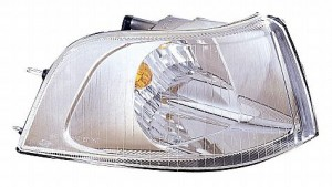 2001-2004 Volvo V40 Corner Light (Park/Signal Combination / with Bright Bezel / Early Design) - Right (Passenger)