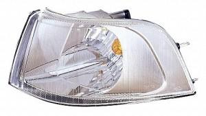 2001-2004 Volvo V40 Corner Light (Park/Signal Combination / with Bright Bezel / Early Design) - Left (Driver)