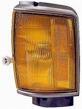 1987-1988 Toyota Pickup Corner Light (4WD / Black) - Left (Driver)