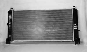 2000-2009 Chevrolet (Chevy) Suburban Radiator (without EOC / 1-inch Core)
