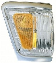 1992-1995 Toyota Pickup Corner Light (4WD / with Chrome) - Left (Driver)