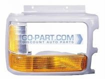 1991-1996 Dodge Dakota Headlight Bezel (with Composite lamp / with Lens / Prime) - Right (Passenger)