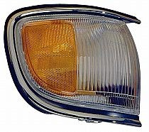 1996-1999 Nissan Pathfinder Corner Light (with Bright Rim / to 12/98) - Left (Driver)