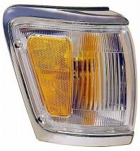 1992-1995 Toyota 4Runner Corner Light (Park/Marker Combination / with Bright Rim) - Right (Passenger)