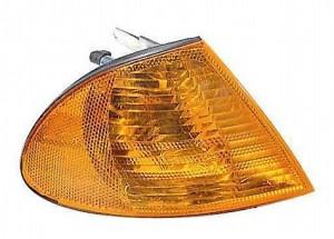 2001-2001 BMW 330i Parking / Signal / Marker Light (Park/Signal/Marker Combo / Sedan / with Amber Lens) - Right (Passenger)