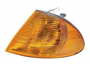 2001-2001 BMW 330i Parking / Signal / Marker Light (Park/Signal/Marker Combo / Sedan / with Amber Lens) - Left (Driver)