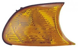 2001-2001 BMW 330i Parking / Signal / Marker Light (Park/Signal/Marker Combo / Coupe/Convertible / with Amber Lens) - Right (Passenger)