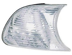 2001-2001 BMW 330i Parking / Signal / Marker Light (Park/Signal/Marker Combo / Coupe/Convertible / with White Lens) - Right (Passenger)