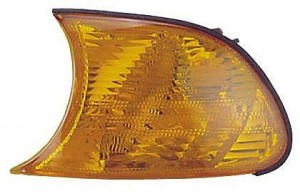 2000-2000 BMW 323i Parking / Signal / Marker Light (Coupe Convertible / Amber Lens) - Left (Driver)