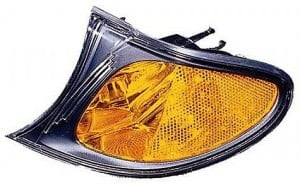 2002-2005 BMW 325i Parking / Signal / Marker Light (Park/Signal/Marker Combo / Sedan / without Bright Trim / Yellow) - Left (Driver)